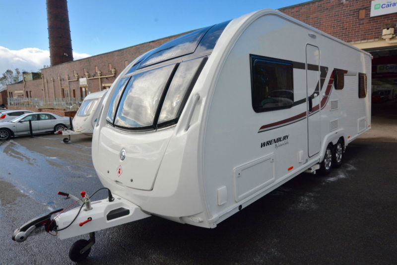 2016 Swift Wrenbury 6 Berth Touring Caravan with Fixed Bed Challenger Quattro FB