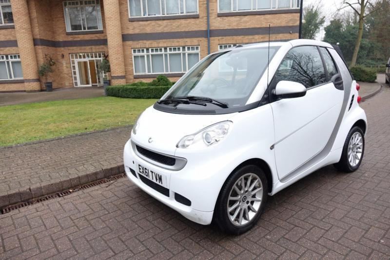 2011 Smart fortwo 1.0 auto Convertible Right Hand
