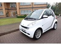SOLD 2011 Smart fortwo 1.0 auto Convertible Right Hand drive RHD UK Registered