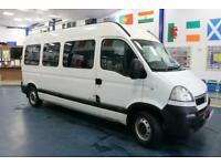 2008 - 57 - VAUXHALL MOVANO 3500 2.5CDTI LWB 6 SEAT DISABLED ACCESS MINIBUS