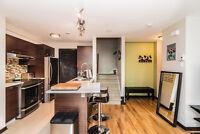 Magnifique condo moderne 4 1/2 sur 2 étages a vendre avec garage