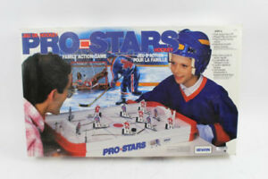 Vintage pro star hockey table, complete with box and all pieces