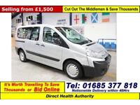 2011 - 11 - CITROEN DISPATCH 1.6HDI 90PS 5 SEAT DISABLED ACCESS MINIBUS