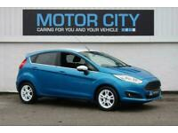 2016 Ford Fiesta ZETEC BLUE EDITION SPRING Hatchback Petrol Manual