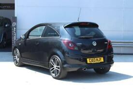 2013 Vauxhall Corsa 1.4 i 16v Black Edition (s/s) 3dr (a/c)