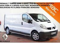 2014 Renault Trafic 2.0dCi LWB LL29 L/Roof Van LL29dCi 115BHP-B.TOOTH-NO VAT-