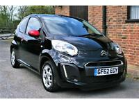 2012/62 CITROEN C1 CONNEXION.25000 MILES FULL SERVICE HISTORY. FREE ROAD TAX!!!