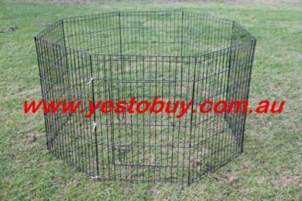 36' 92cmH 8panel Dog Playpen penCage Crate Enclosure Rabbit