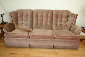 Couch and armchair for sale
