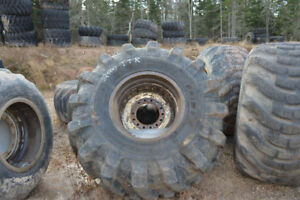 Used forestry tires (see sizes available)