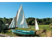 Drascombe Dabber sailing boat ready to sail (Just reduced in price)