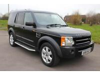 Land Rover Discovery 3 2.7TD V6 auto 2008 HSE 7 SEATS DIESEL BLACK 4X4