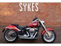2019 Harley-Davidson FLFBS Softail Fat Boy 114 in Wicked Red