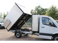 16 Mercedes Sprinter Arb High side Tipper Tree surgeon Arborist Waste Clearance