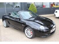 TROPHY CARS MGF MGTF LE500,1 OF 3 IN STOCK,ONLY 18000 MLS,NEW BELT & PUMP,RAC
