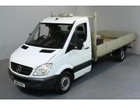 MERCEDES-BENZ SPRINTER 2.1 313 CDI LWB 2D 129 BHP DROPSIDE REAR TOW FITTED