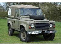 Land Rover Defender 90 Ex MOD 3.5 V8 LPG