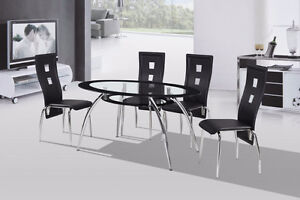 THIS BRAND NEW 5 PIECE DINETTE SET IS ON SALE FOR ONLY $450.00