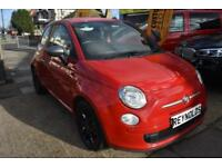 BAD CREDIT CAR FINANCE AVAILABLE 2011 61 FIAT 500 0.9 TWINAIR