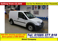 2011 - 61 - FORD TRANSIT CONNECT T200 75 1.8TDCI SWB VAN (GUIDE PRICE)