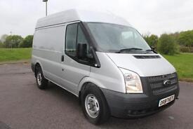 Ford Transit 2.2TDCi ( 100PS ) RWD 330S Med Roof Van 330 SWB Silver Diesel Van
