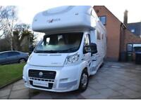 Frankia 840 Luxury Class Coachbuilt Motorhome for Sale 6 berth 4 belts Sat Dish