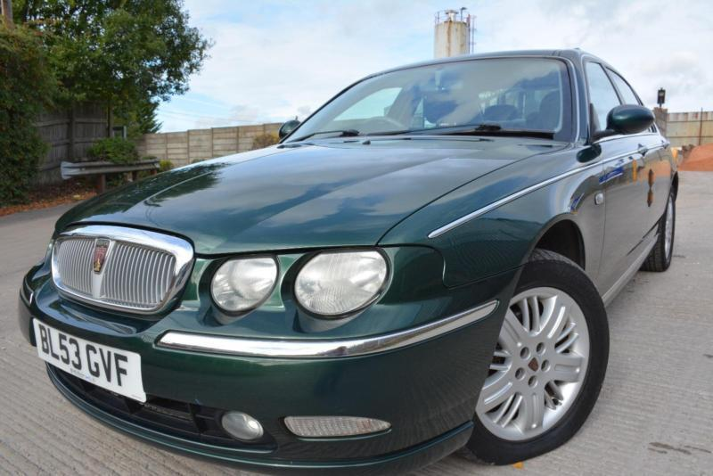 ROVER 75 CLUB SE 1.8 4 DOOR*LOW MILEAGE*ONLY 60K MILES*CAMBELT CHANGED*FULL MOT