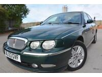 ROVER 75 CLUB SE 1.8 4 DOOR*LOW MILEAGE*ONLY 60K MILE*CAMBELT CHANGED*LADY OWNED