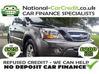 Kia Sorento 2.5 CRDI XE Good / Bad Credit Car Finance (black) 2009