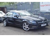2014 Mercedes-Benz CLS CLS250 Coupe 2.1CDi 204 SS AMG Sport 7GT+ Diesel black Au