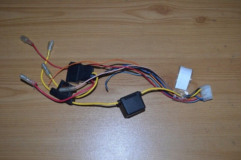 Genuine Alpine Head Unit Stereo ISO Wiring Harness