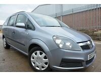 VAUXHALL ZAFIRA LIFE 1.6 16V 5 DOOR 7 SEATER MPV*FULL MOT*LOVELY CONDITION*