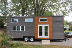 Tiny house on wheels for rent in Toronto