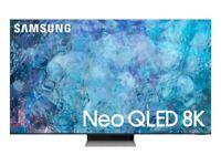 Samsung QE75QN900A (2021) Neo QLED HDR 4000 8K Ultra HD Smart TV, 75 inch with TVPlus/Freesat HD