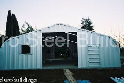 Durospan Steel 32x48x18 Metal Building Kit Diy Home Garage Auto Workshop Direct