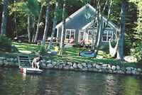 Lakeside cottage for rent in Bridgewater, absolutely stunning