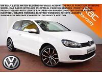2012 Volkswagen Golf 1.6TDI(105ps)Match-P.SENSORS-CRUISE-B.TOOTH-DAB-AUTO LIGHTS
