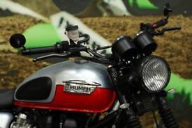 2014 TRIUMPH BONNEVILLE SCRAMBLER CAFE RACER, ROAD REGISTERED