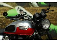 2014 TRIUMPH BONNEVILLE SCRAMBLER CAFE RACER, ROAD REGISTERED