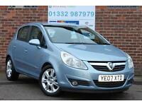 Vauxhall Corsa 1.4i 16v A/C Design 5 Door Automatic Petrol Metallic Light Blue