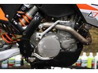 2010 KTM 530 EXC ENDURO BIKE ROAD REG, NEW GRIPS