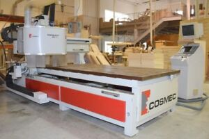 COSMEC CNC * SAWS, SHAPERS, JOINTERS * COMPANY CLOSING SALE