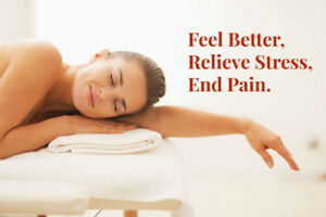 Mississauga New Life Clinic Relaxation Massage from $39.9