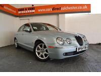 2004 54 Jaguar S-TYPE 2.5 Auton SE Sat nav £87 A Month £0 Deposit