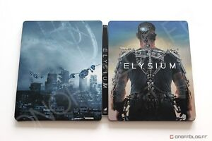 BLU-RAY! ELYSIUM LI MITED EDITION STEELBOOK