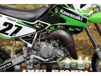 2004 KAWASAKI KX 65 MOTOCROSS BIKE RENTHAL HANDLEBARS, NEW GRIPS