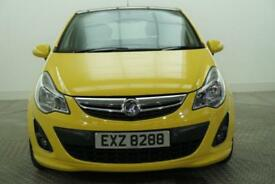 2011 Vauxhall Corsa LIMITED EDITION Petrol yellow Manual
