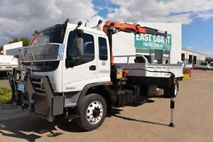 ISUZU FTR 900 ** CRANE TRUCK ** TIPPER ** #4862 Archerfield Brisbane South West Preview