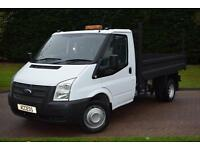 Ford Transit s/cab tipper T350 6 speed