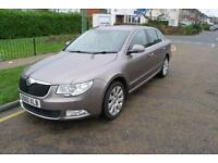 2010 Skoda Superb 1.6TDI CR SE RARE 1.6 DIESEL MOTORWAY MILEAGE MOT'ED LEATHER